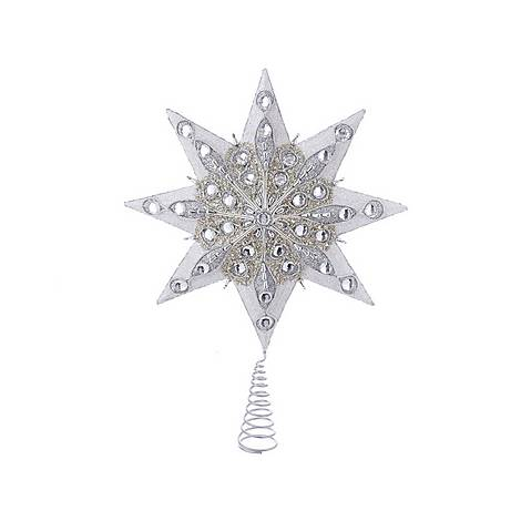 Star with Gem Tree Topper, ${color}
