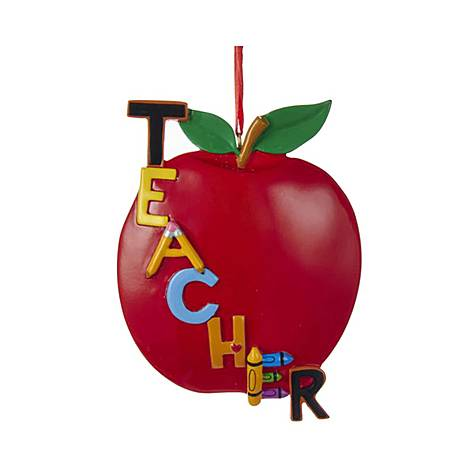 Teacher Apple Tree Decoration, ${color}