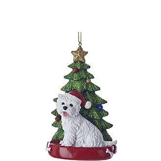 Highland Terrier Tree Decoration