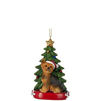 Yorkshire Terrier Tree Decoration