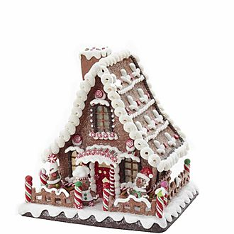 Gingerbread LED House Decoration