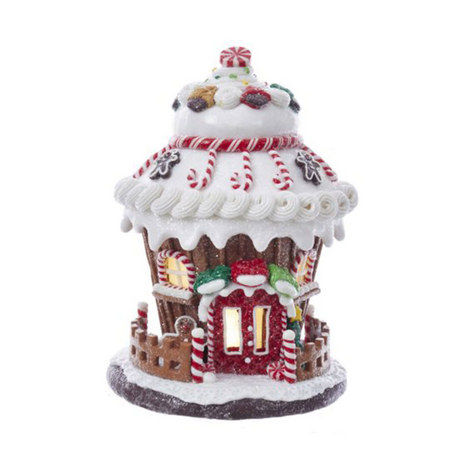 Gingerbread LED House Decoration, ${color}