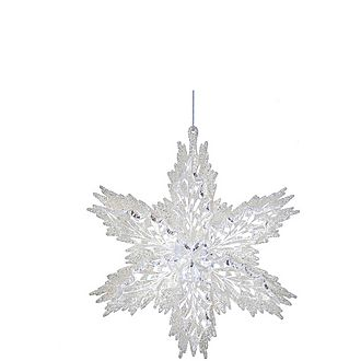 White Snowflake Tree Decoration