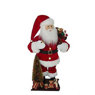 Santa & Sack Figurine