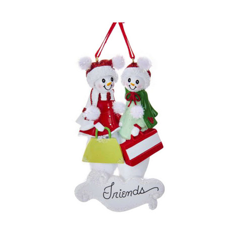 Snow Friends Hanging Tree Decorations, ${color}