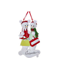 Snow Friends Hanging Tree Decorations