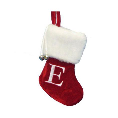 letter e hanging tree stocking