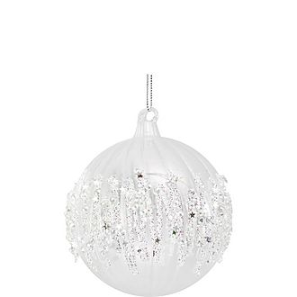 Glitter Bauble Decoration