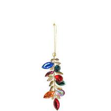 Jewel Leaf Tree Decoration