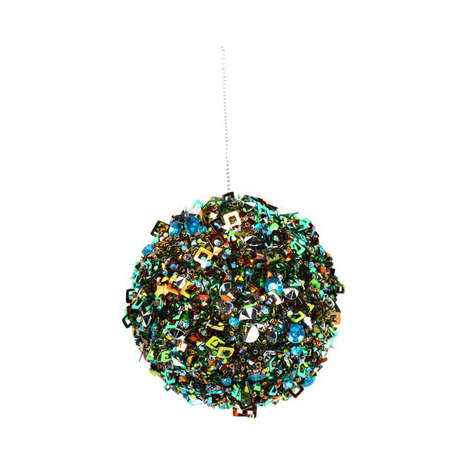 Sequin Encrusted Bauble, ${color}