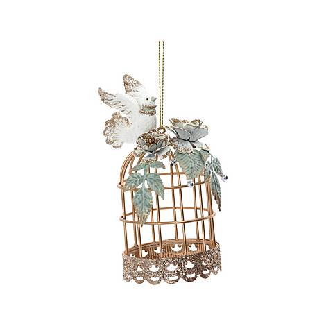 Dove With Cage Decoration, ${color}
