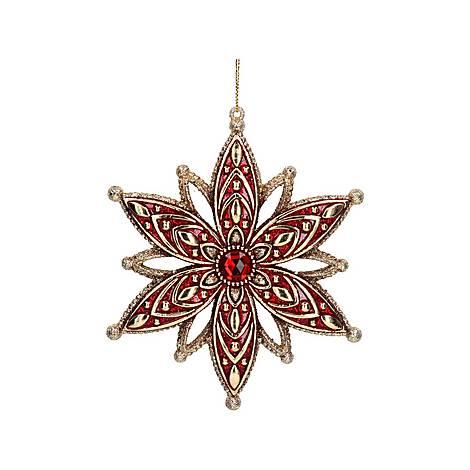 3-D Jewelled Star Decoration, ${color}