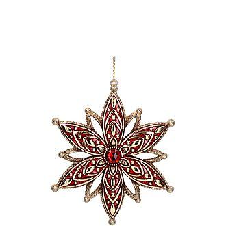 3-D Jewelled Star Decoration