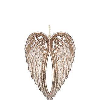 Glitter Wings Decoration