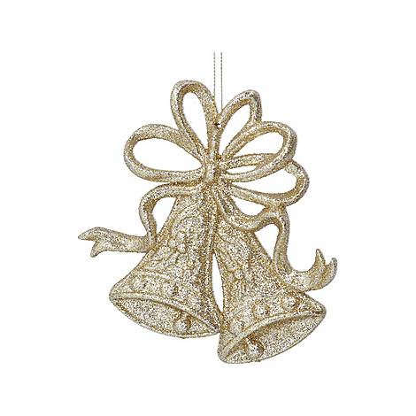 Double Bell Tree Decoration, ${color}