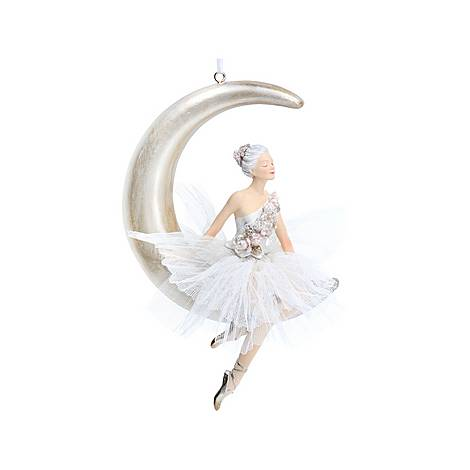 Ballerina on the Moon Tree Decoration, ${color}