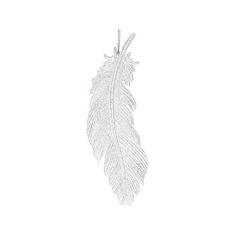 Glitter Feather Decoration, ${color}