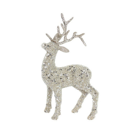 Glitter Stag  Decoration, ${color}