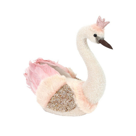 Crowned Swan Decoration, ${color}