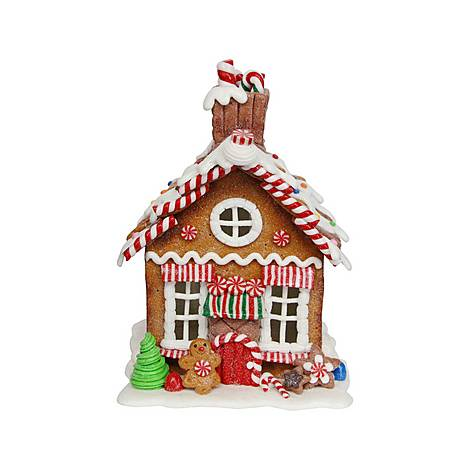 Gingerbread House Ornament Small, ${color}