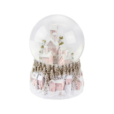 Glitter House Snow Globe, ${color}