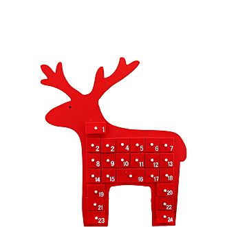 Reindeer Decorative Advent Calendar