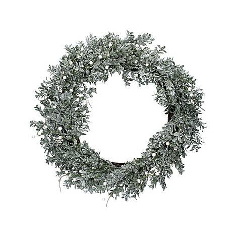 Ribbon Leaf Wreath, ${color}