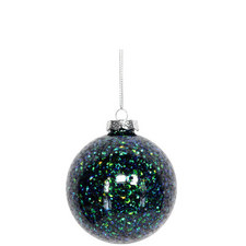 Filled Glitter Bauble