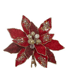 Poinsettia Christmas Decoration
