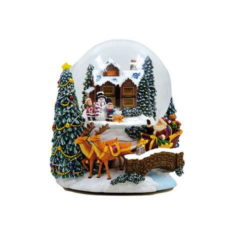 Sleigh Snow Globe, ${color}