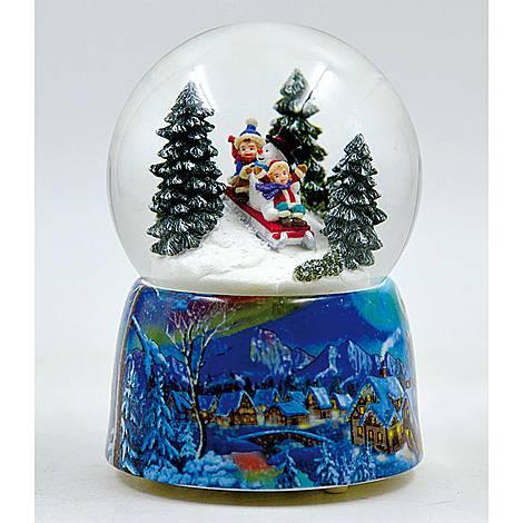 Sleigh Ride Snow Globe, ${color}