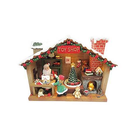 Santa's Workshop Scene, ${color}