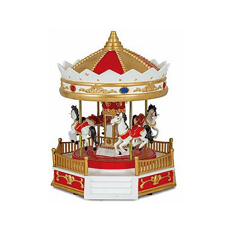 Horse Carousel Music Box, ${color}