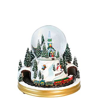 Church Snow Globe