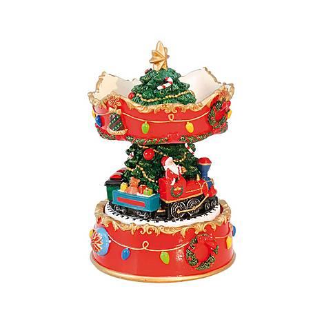 Christmas Tree Carousel Music Box, ${color}