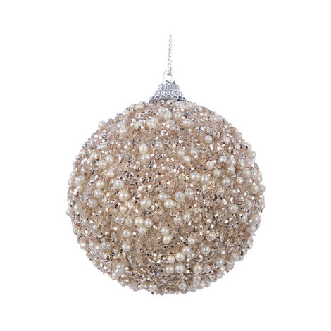 Glitter Bead Bauble, ${color}
