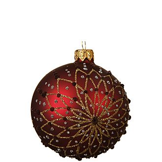 Flower Bauble Tree Decoration