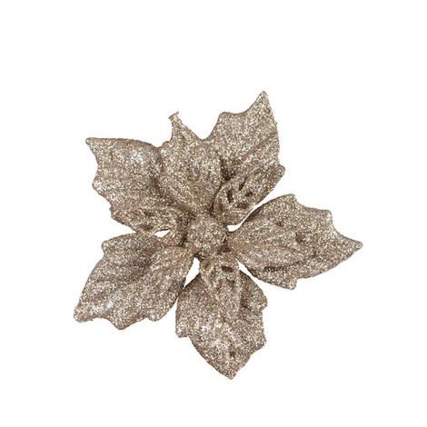 Glitter Flower Clip, ${color}