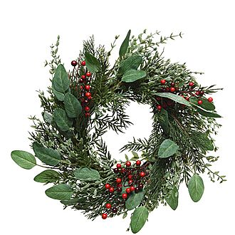 Berry Leaf Wreath