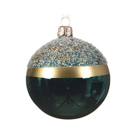 Glitter Top Bauble, ${color}