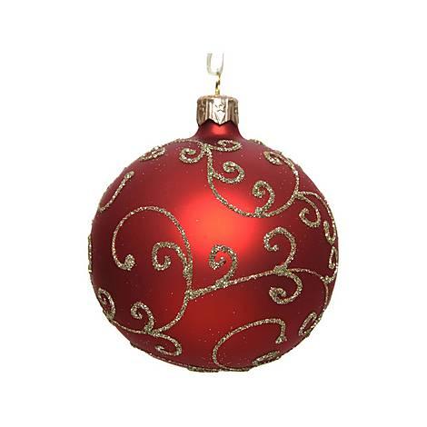 Matte Curl Bauble Tree Decoration, ${color}