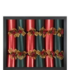 Six Celebration Crackers Set