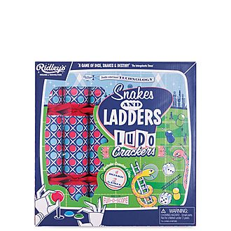 6-Piece Snakes & Ladders Christmas Crackers
