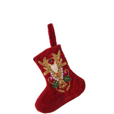 Embroidered Stocking