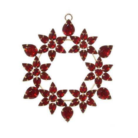 Jewel Flower Hanging Decoration, ${color}