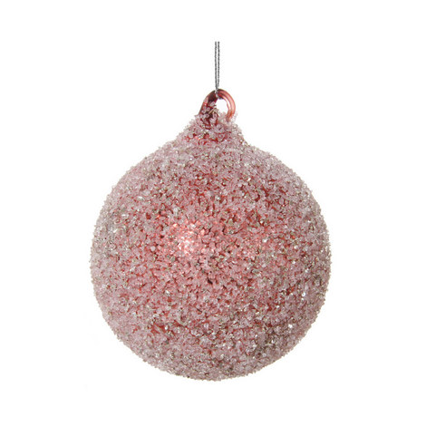 Frosted Glitter Bauble, ${color}