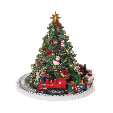 Train Track Tree Decoration, ${color}