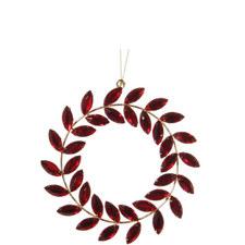 Jewel Ring Hanging Tree Decoration 12cm