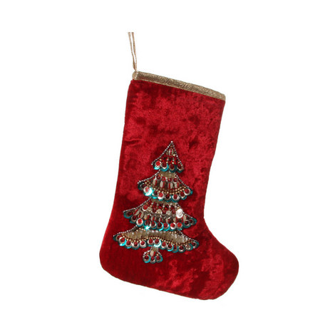 Embroidered Stocking, ${color}