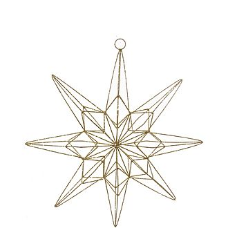 8-Pointed Star Tree Decoration